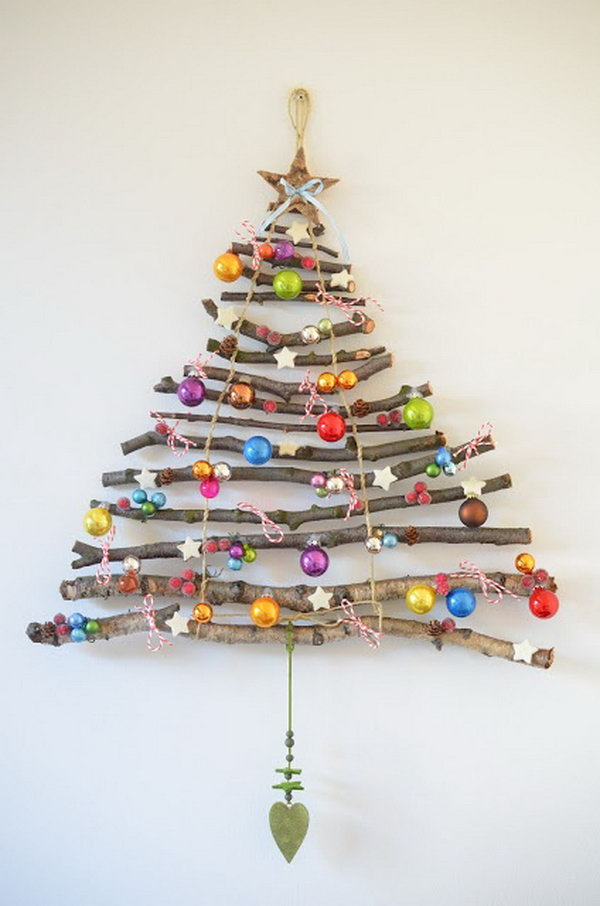 14 christmas tree decorating ideas - 30 Creative Christmas Tree Decorating Ideas