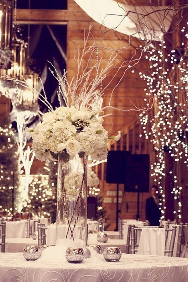 7 creative winter wedding ideas - 15 Creative Winter Wedding Ideas