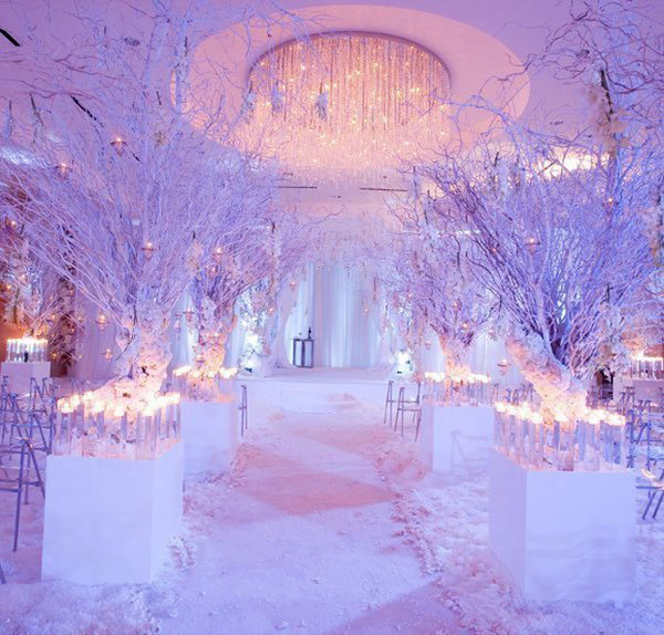9 creative winter wedding ideas - 15 Creative Winter Wedding Ideas