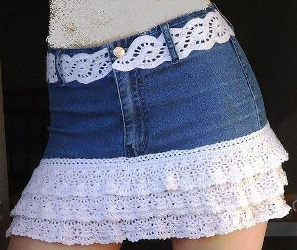 14 jeans shorts decoration - 20 Cool DIY Shorts Ideas for Girls