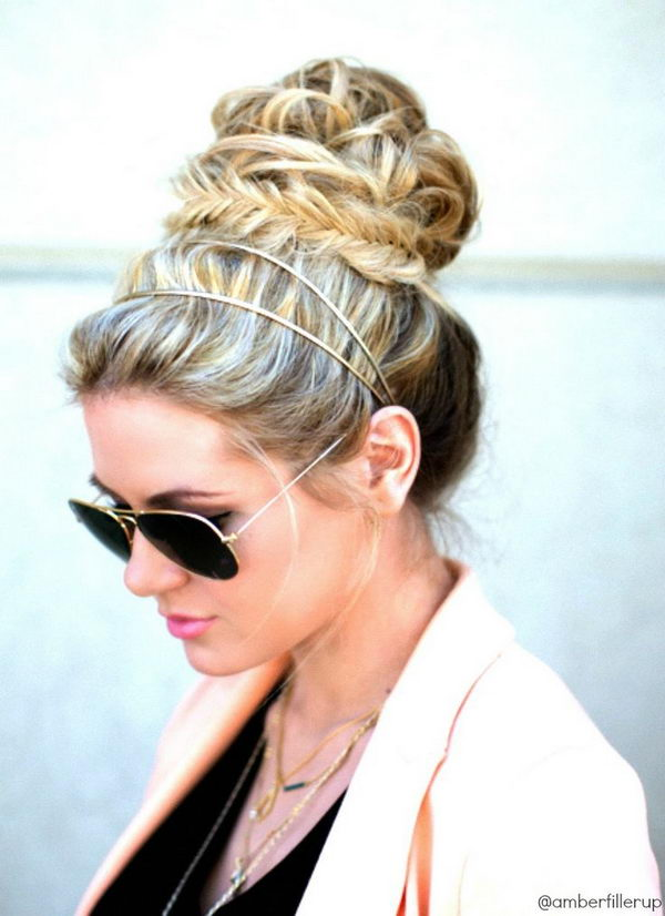 10 cool hairstyles with headbands for girls - 25 Cool Hairstyles with Headbands for Girls