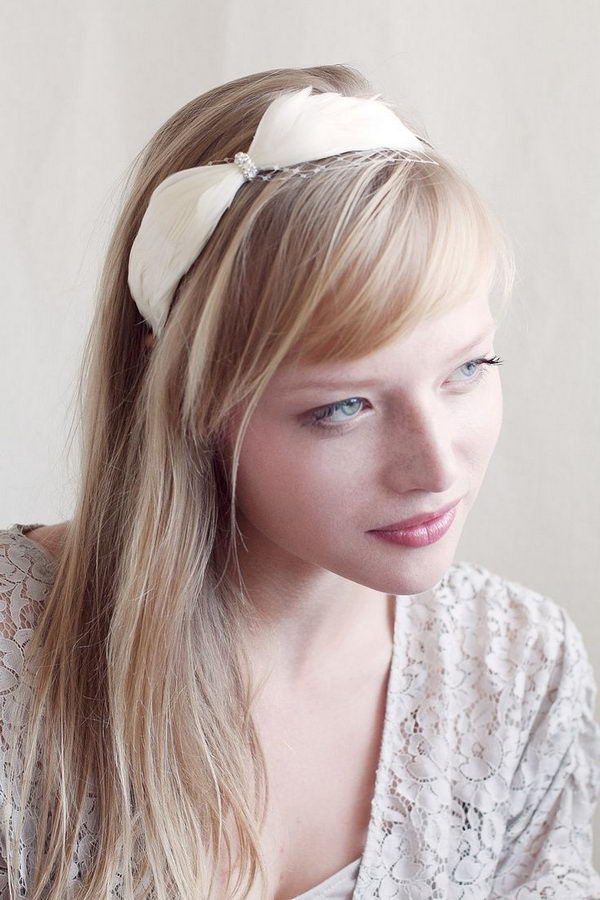 12 cool hairstyles with headbands for girls - 25 Cool Hairstyles with Headbands for Girls