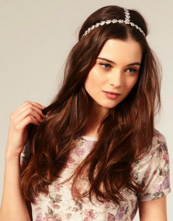 23 cool hairstyles with headbands for girls - 25 Cool Hairstyles with Headbands for Girls