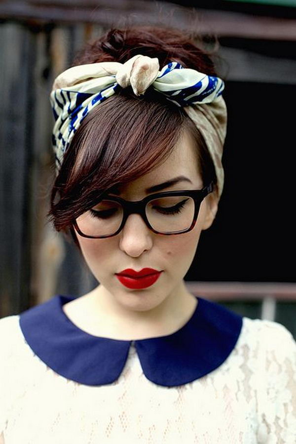 5 cool hairstyles with headbands for girls - 25 Cool Hairstyles with Headbands for Girls