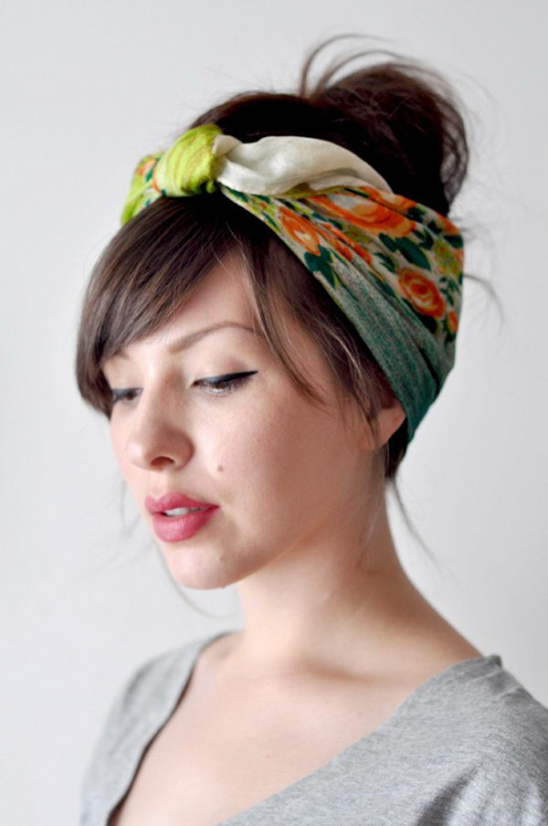 8 cool hairstyles with headbands for girls - 25 Cool Hairstyles with Headbands for Girls