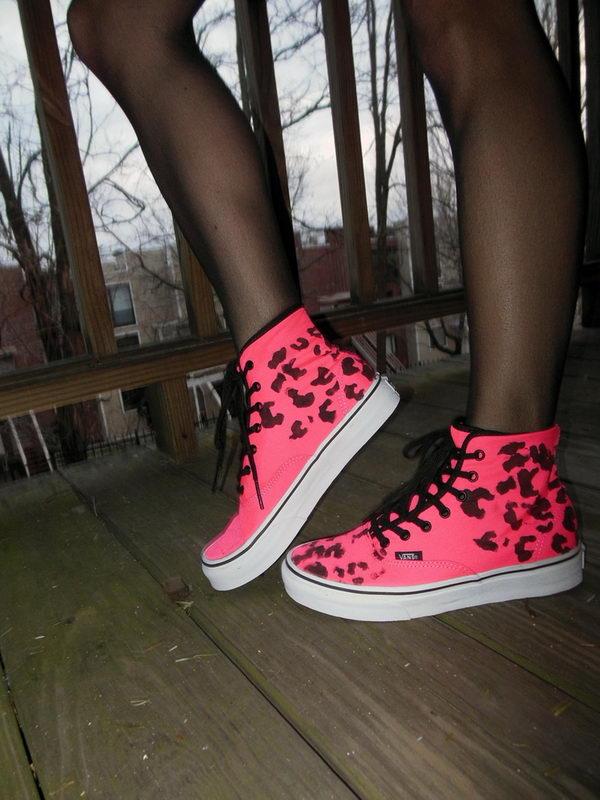 8 leopard print vans - 10 Creative Leopard Print Shoes Ideas