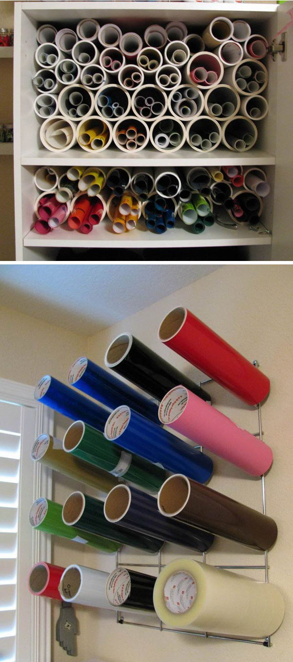 13 wrapping paper storage - Creative Wrapping Paper Storage Ideas