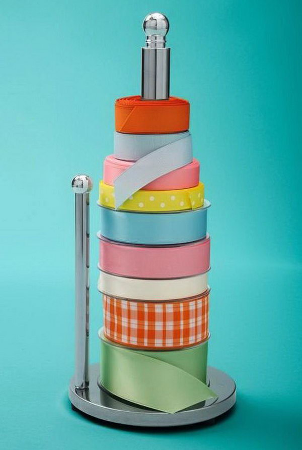 2 wrapping paper storage - Creative Wrapping Paper Storage Ideas