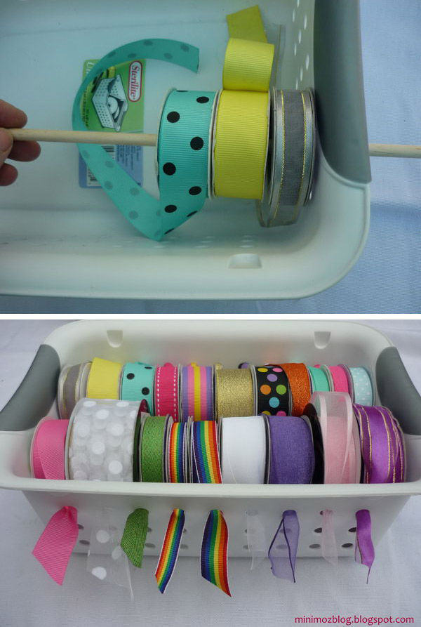 4 wrapping paper storage - Creative Wrapping Paper Storage Ideas