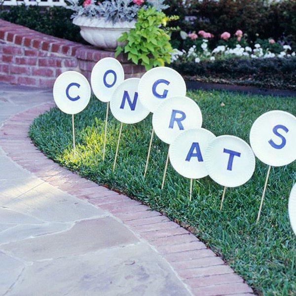 22 graduation party decoration ideas - 25 DIY Graduation Party Decoration Ideas