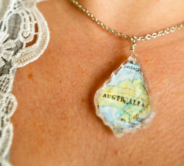 13 diy map projects - 25 Creative DIY Map Projects