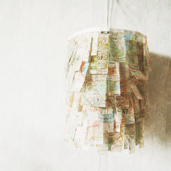 19 diy map projects - 25 Creative DIY Map Projects