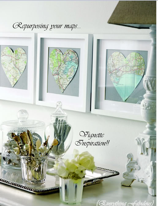 20 diy map projects - 25 Creative DIY Map Projects