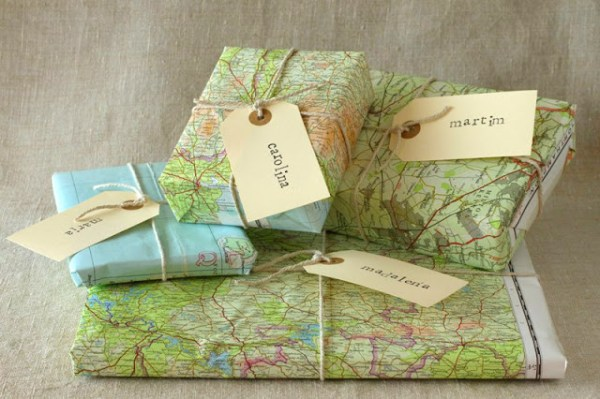 24 diy map projects - 25 Creative DIY Map Projects
