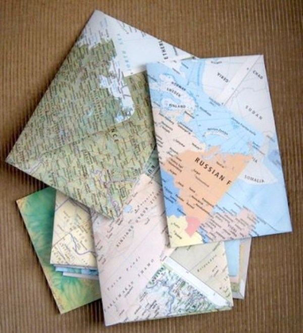 25 diy map projects - 25 Creative DIY Map Projects