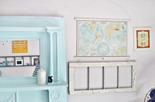 6 diy map projects - 25 Creative DIY Map Projects