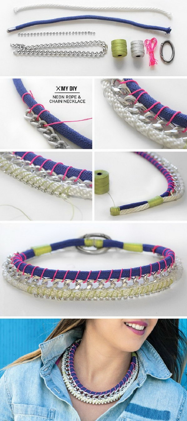 10 rope crafts - 25 DIY Rope Craft Ideas