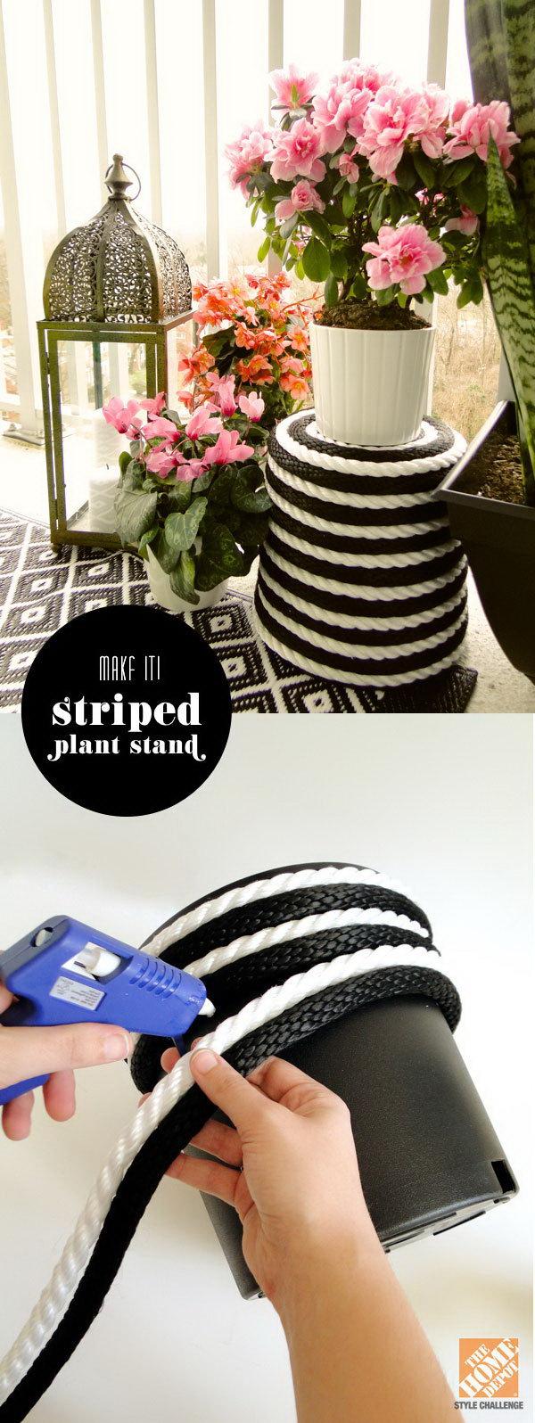 17 rope crafts - 25 DIY Rope Craft Ideas