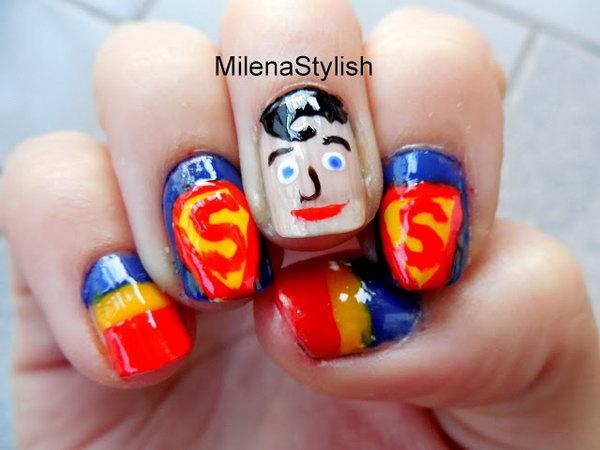 25 cute 4th of july patriotic nail art - 36 Cute 4th of July Patriotic Nail Art Ideas