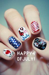 36 Cute 4th of July Patriotic Nail Art Ideas - 2017