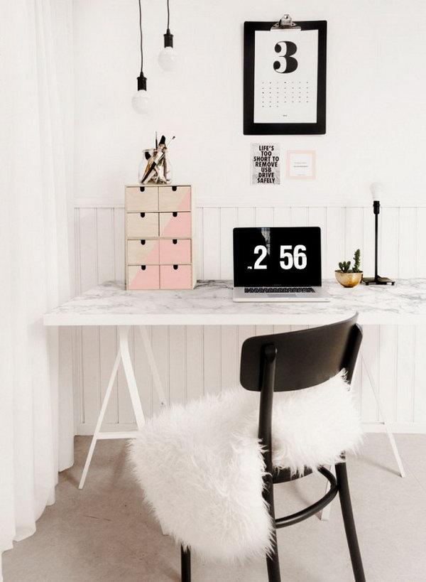 16 ikea desk hacks - 20+ Cool and Budget IKEA Desk Hacks
