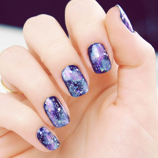 11 purple nail art designs - 30+ Trendy Purple Nail Art Designs You Have to See