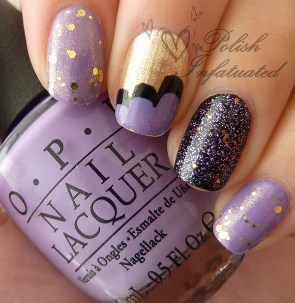 22 purple nail art designs - 30+ Trendy Purple Nail Art Designs You Have to See