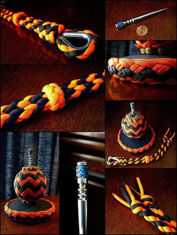 14 diy paracord projects - Cool DIY Paracord Projects