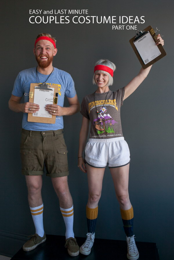17 couple costume ideas - Stylish Couple Costume Ideas