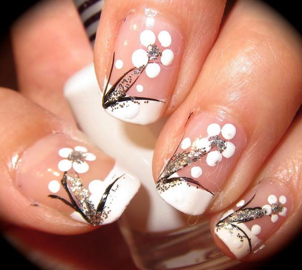 22 black and white nail designs - 80+ Black And White Nail Designs