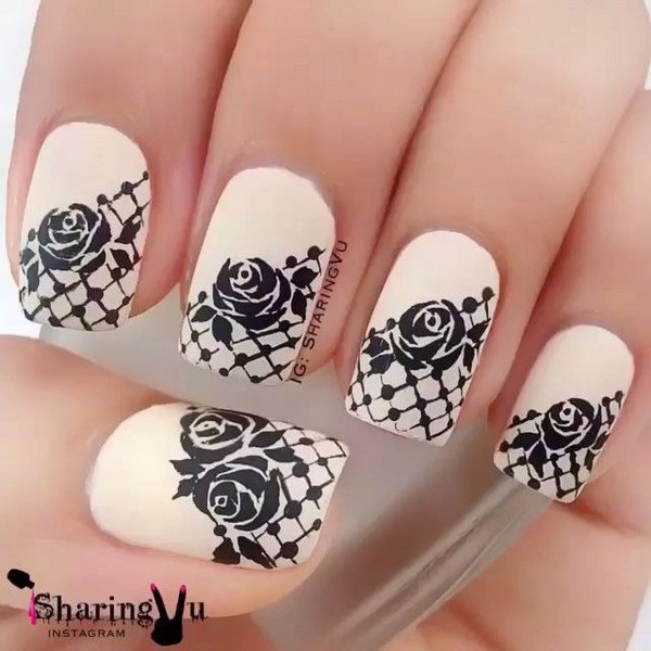 24 black and white nail designs - 80+ Black And White Nail Designs