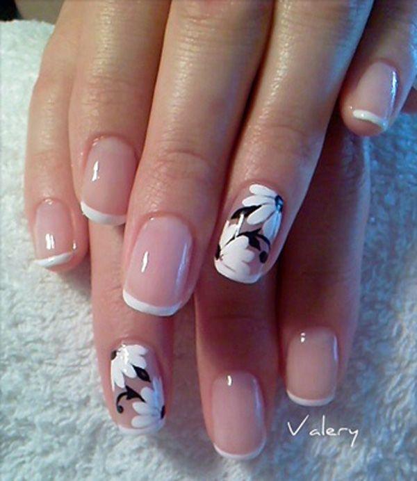 25 black and white nail designs - 80+ Black And White Nail Designs