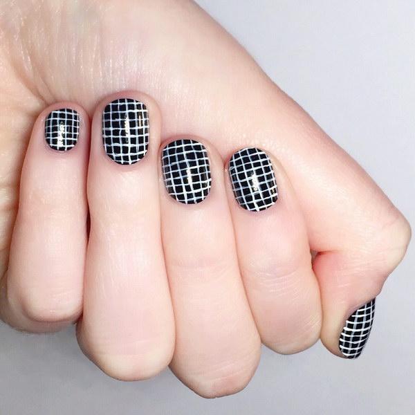 69 black and white nail designs - 80+ Black And White Nail Designs