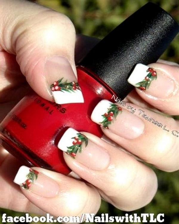 19 christmas nail art designs - 50 Festive Christmas Nail Art Designs