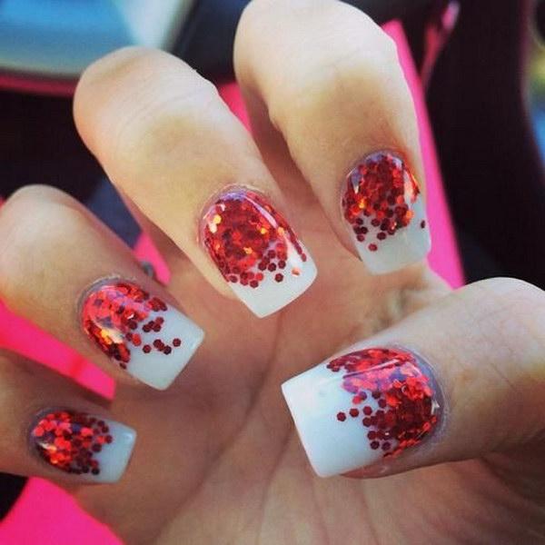 35 christmas nail art designs - 50 Festive Christmas Nail Art Designs