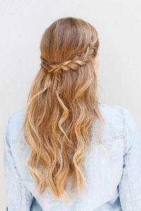 55+ Stunning Half Up Half Down Hairstyles