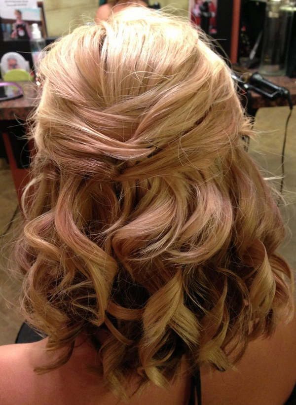 55 Stunning Half Up Half Down Hairstyles 2017