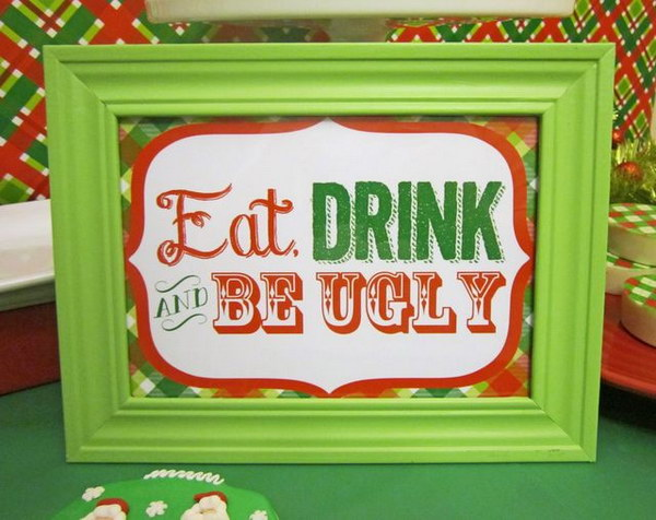 14 ugly christmas sweater party ideas - 20 Ugly Christmas Sweater Party Ideas
