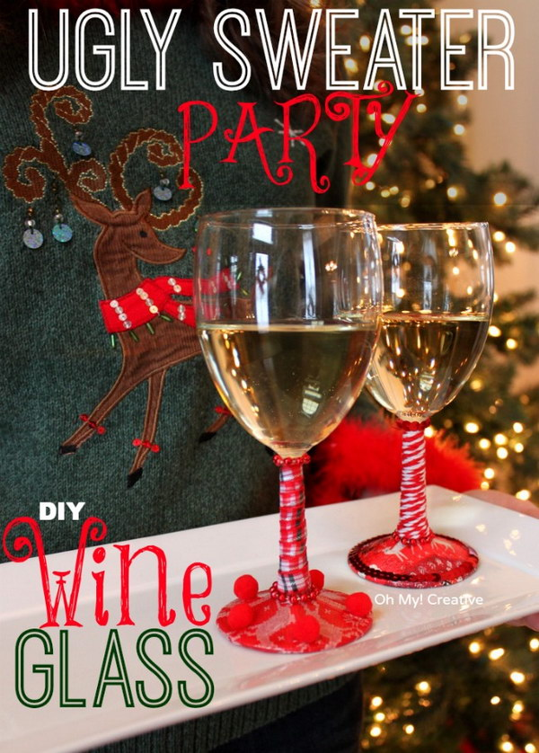 17 ugly christmas sweater party ideas - 20 Ugly Christmas Sweater Party Ideas