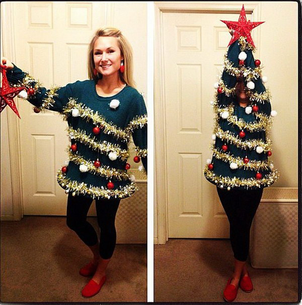 2 ugly christmas sweater party ideas - 20 Ugly Christmas Sweater Party Ideas