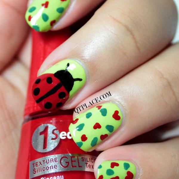 103 green nail art designs - 100+ Awesome Green Nail Art Designs