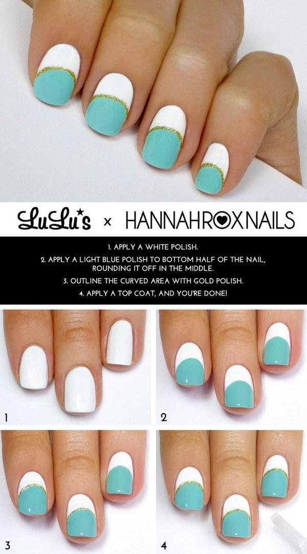 26 green nail art designs - 100+ Awesome Green Nail Art Designs
