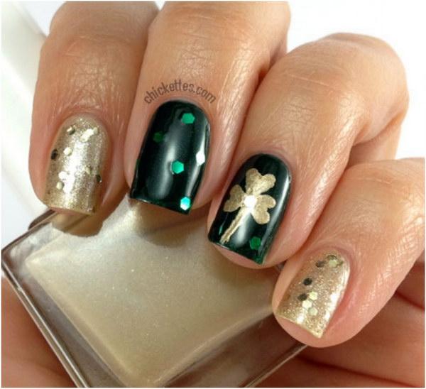 48 green nail art designs - 100+ Awesome Green Nail Art Designs