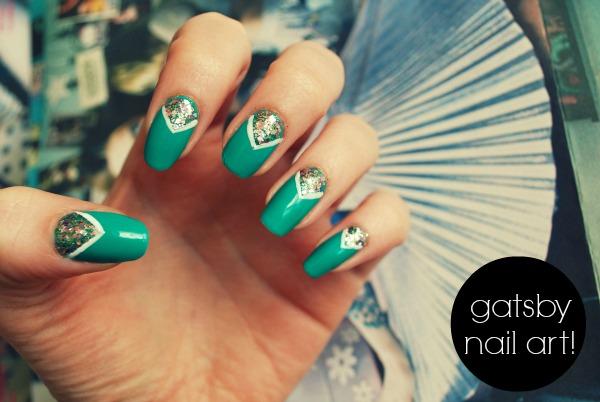 5 green nail art designs - 100+ Awesome Green Nail Art Designs