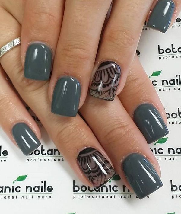 96 green nail art designs - 100+ Awesome Green Nail Art Designs