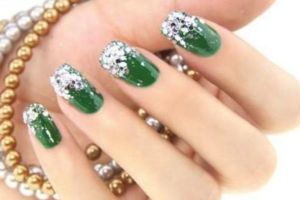 99 green nail art designs - 100+ Awesome Green Nail Art Designs