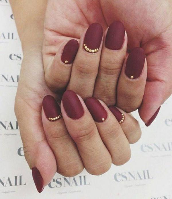 10 matte nail designs - 60 Pretty Matte Nail Designs