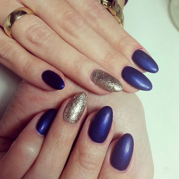 13 matte nail designs - 60 Pretty Matte Nail Designs