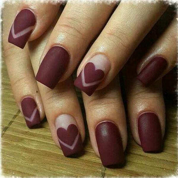 15 matte nail designs - 60 Pretty Matte Nail Designs