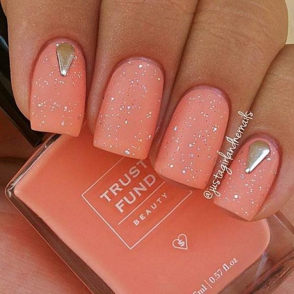 23 matte nail designs - 60 Pretty Matte Nail Designs